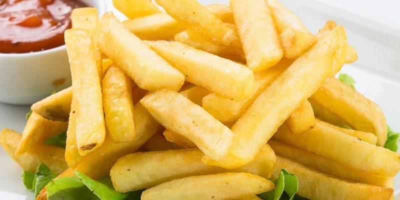 Линия производства картофеля фри