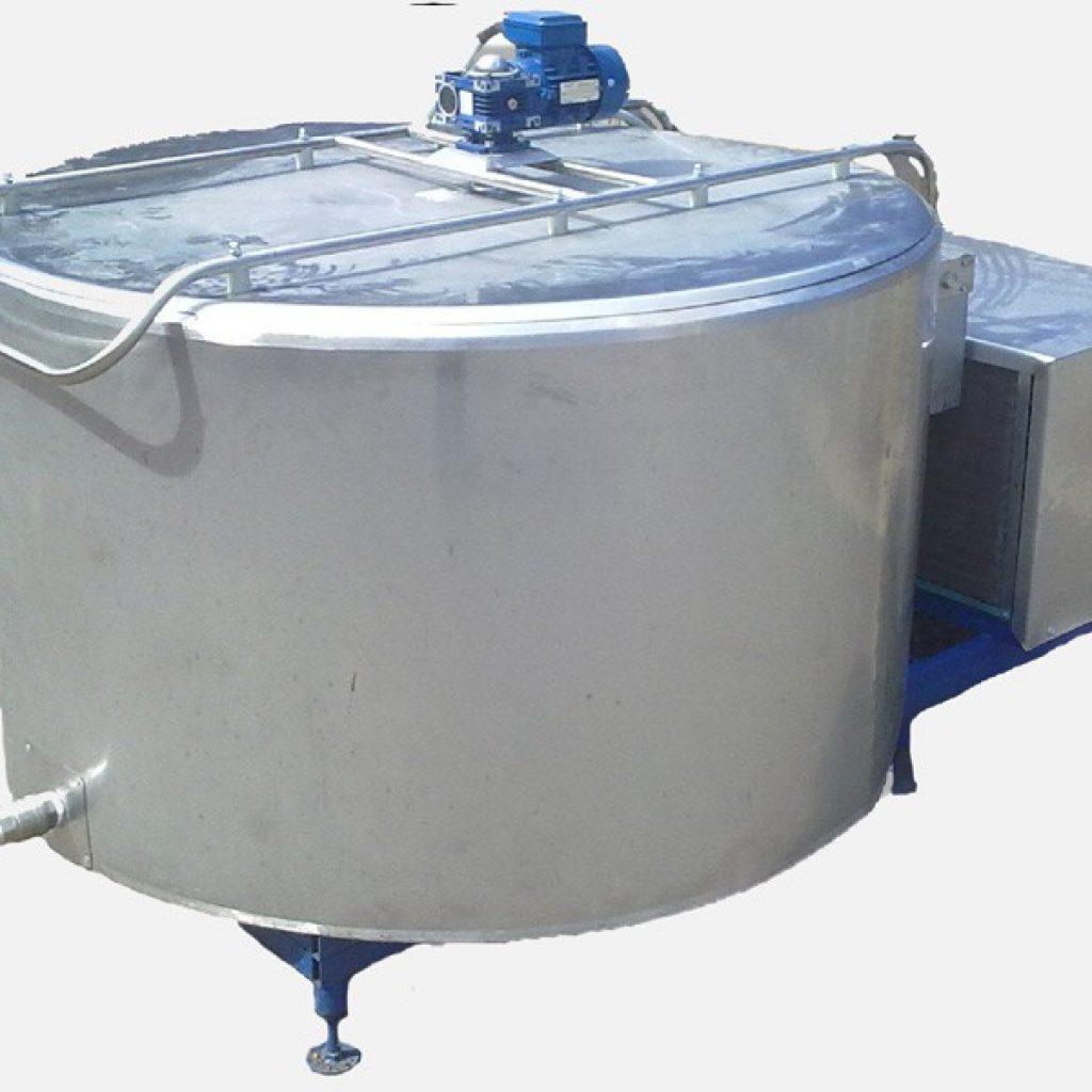 Охладитель молока вертикальный
