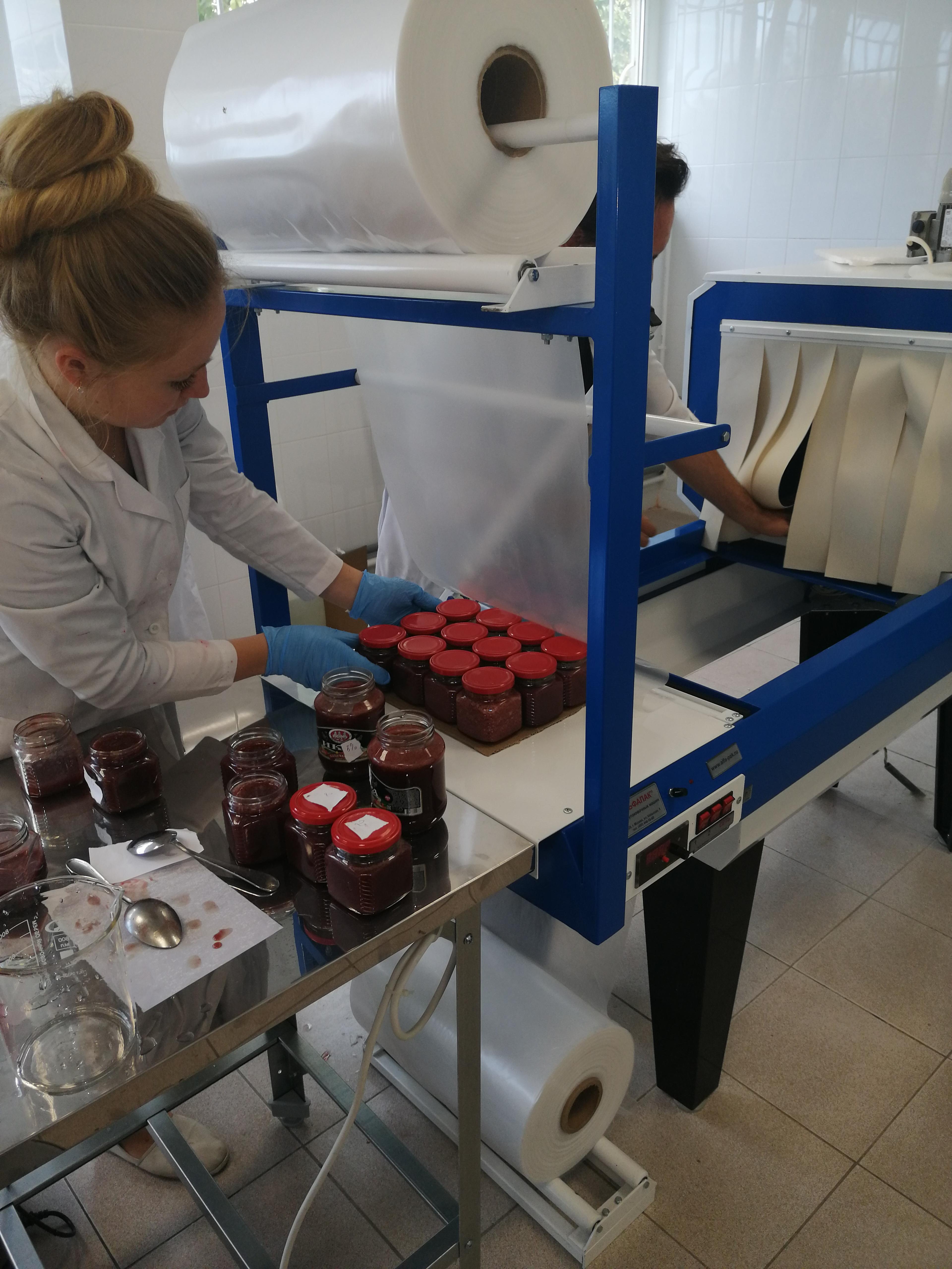В очередной раз компания «РостАгроСтрой» запустила цех по переработки ягод для получения варенья и джема.