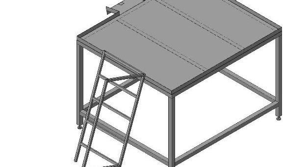 Стол нутровочный со склизом