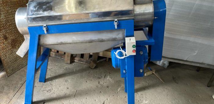 Отгрузка оборудования для протирки в компанию Семушка.